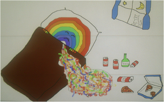 Rainbow Puke by Chris Coyne